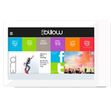 Billow X101 V2 Tablet, 10.1 IPS, Quad Core, 1GB, 8GB, WiFi, Android 7.1, White, Charging by USB only