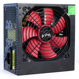 Pulse 650W PSU, ATX 12V, Active PFC, 4 x SATA, PCIe, 120mm Silent Fan, Black Casing