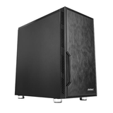 Antec VSK10 Micro ATX Case, No PSU, 12cm Fan, 2 USB 3.0, Extensive Cooling Options, Black
