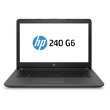 HP 240 G6 Laptop, 14, i5-7200U, 4GB, 500GB, DVDRW, Windows 10 Pro