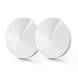 TP-LINK (DECO M9 PLUS) Smart Home Mesh Wi-Fi System, 2 Pack, Tri Band AC2200, MU-MIMO, Built-in Smart Hub