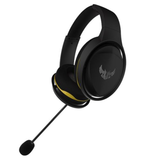 Asus TUF Gaming H5 Lite Gaming Headset, 3.5mm Jack, Boom Mic, Stainless-Steel, Airtight Chamber
