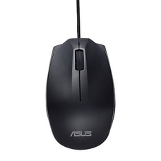Asus UT280 Wired Optical Mouse, 1000 DPI, Ambidextrous, Black