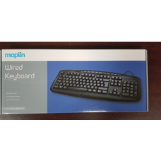 Maplin Wired USB Multimedia Keyboard